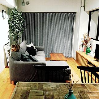 女性41歳の家族暮らし3DK、RC北海道支部に関するamigumiさんの実例写真