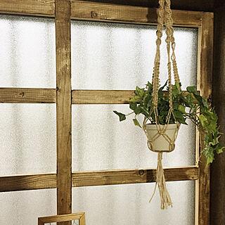 女性家族暮らし、簡単窓枠に関するchiriさんの実例写真