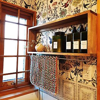 〇〇のある暮らし/DIYのある暮らし/壁紙DIY/窓枠DIY/棚DIY...などのインテリア実例 - 2020-01-21 09:00:05