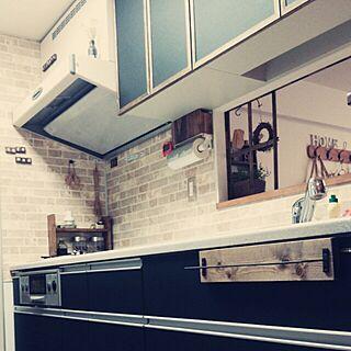 キッチン/DIY/リメイク/ダイソー/マスキングテープ...などのインテリア実例 - 2015-01-12 14:27:07