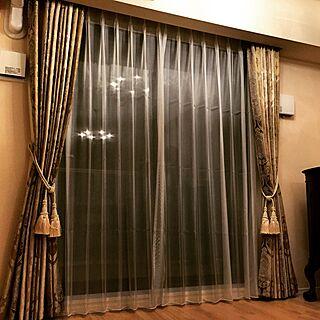 女性一人暮らし2LDK、スペインカーテンに関するayumoco725さんの実例写真