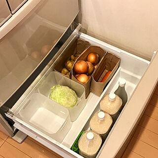 暮らしやすく/冷蔵庫掃除/整理収納/収納整理/野菜室掃除...などのインテリア実例 - 2017-07-30 16:59:52