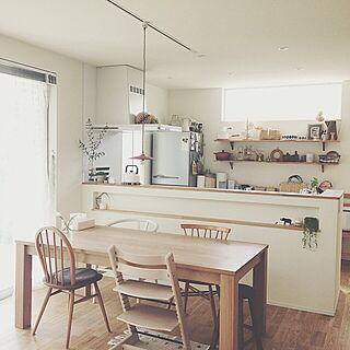キッチン/トリップトラップ/北欧/アーコール/かご...などのインテリア実例 - 2014-05-16 14:08:33
