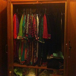 女性33歳の同棲、closetに関するAnnieさんの実例写真