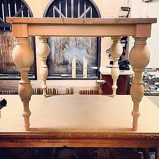 机/DIYテーブル/DIY テーブル/DIY机/DIY...などのインテリア実例 - 2015-04-14 09:26:39