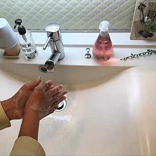 タイルシール/手洗い/メソッド/植物由来/method...などのインテリア実例 - 2020-03-28 17:13:03