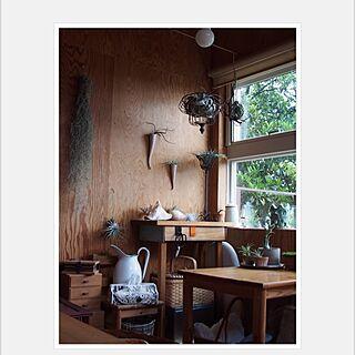 部屋全体/窓辺/チランジア/古いもの/貝殻...などのインテリア実例 - 2014-04-30 10:10:57