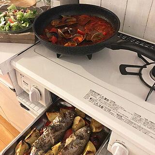 女性家族暮らし3LDK、パスタ缶に関するtarさんの実例写真