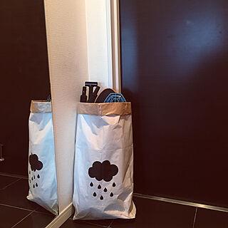 玄関/入り口/ペーパーバッグ収納/キックボード/キックボード収納/ラングスジャパン...などのインテリア実例 - 2019-01-25 09:13:14