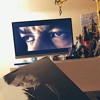 男性33歳の一人暮らし1K、バーカウンターに関するYuya_Funabaさんの実例写真