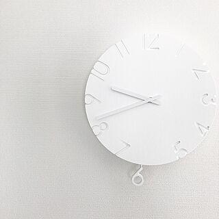 壁/天井/レムノス/時計/掛け時計/シンプルライフ...などのインテリア実例 - 2017-01-17 12:08:30