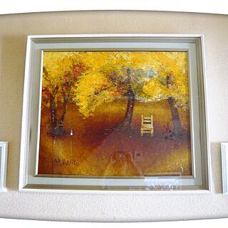 女性63歳の家族暮らし、壁に描いた絵に関するksyanさんの実例写真