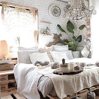 ベッド周り/原状回復/アメブロやってます♪/賃貸DIY/Boho Style...などのインテリア実例 - 2017-09-25 18:33:13
