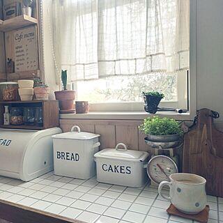 キッチン/ナチュラル/朝の1枚/古いもの/ブログやってます(*Ü*)...などのインテリア実例 - 2016-03-08 08:09:07
