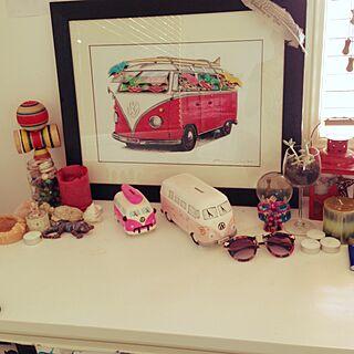 女性家族暮らし4LDK、VWに関するseiko5kidsさんの実例写真