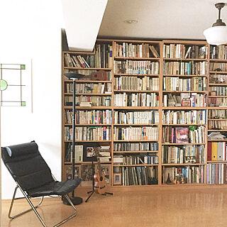 4LDK、アンティーク本棚に関するtantan_mさんの実例写真
