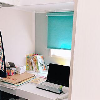 女性53歳の家族暮らし4LDK、作業机に関するrizumu4649さんの実例写真