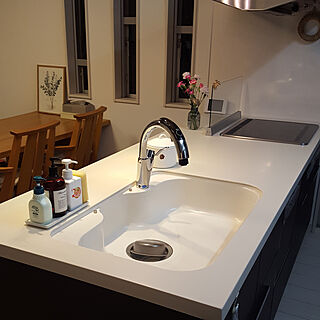 女性家族暮らし3LDK、Kitchen 無印良品に関するkonatuさんの実例写真