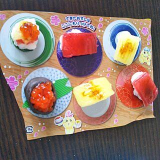 女性28歳の家族暮らし3DK、お寿司屋さんに関するYukiさんの実例写真