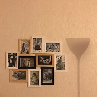 女性34歳の家族暮らし2LDK、ニューボーンフォトに関するshioriさんの実例写真
