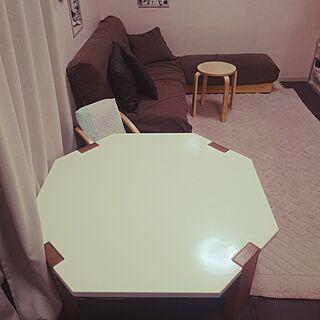 家族暮らし3LDK、八角形に関するyu-さんの実例写真