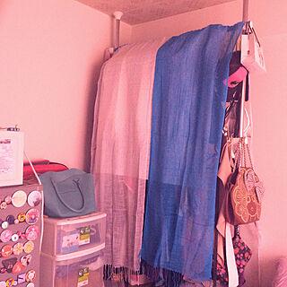女性一人暮らし1R、埃除けに関するmachikoさんの実例写真