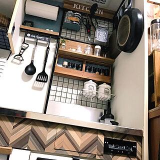 1R、Kitchen 100均に関するpouさんの実例写真