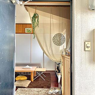 賃貸アパート/引っ越しました/古いアパート/どんなお部屋にしようかな/狭くても居心地よく...などのインテリア実例 - 2021-02-13 14:49:52