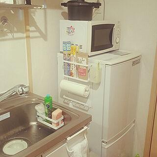 女性一人暮らし1K、自炊に関するpetit_tomatoさんの実例写真