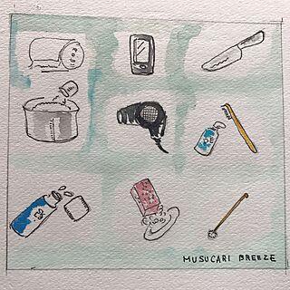女性家族暮らし、postcardに関するmusucariさんの実例写真
