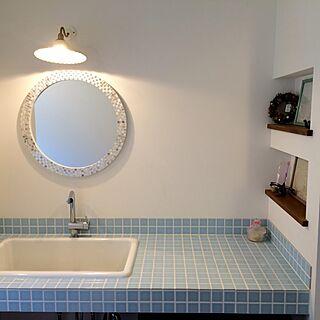 女性32歳の家族暮らし2LDK、Bathroom INAXに関するh-1o0さんの実例写真