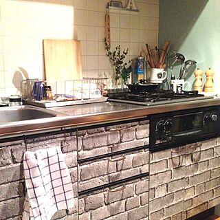キッチン/無印良品/植物/食器/IKEA...などのインテリア実例 - 2014-01-31 23:17:17
