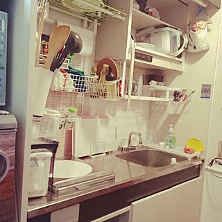 女性24歳の一人暮らし1R、収納たっぷりに関するhiroiさんの実例写真