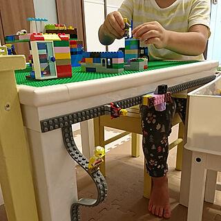 女性34歳の家族暮らし、レゴに関するyokopanさんの実例写真