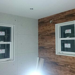 、コンクリート風壁紙に関するsurfwagonさんの実例写真