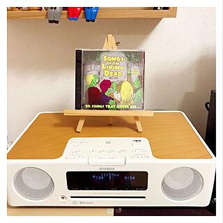 女性一人暮らし2K、レコード棚に関するMaicoさんの実例写真