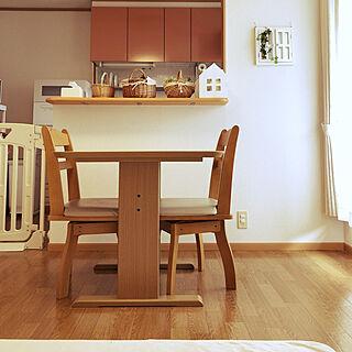 女性家族暮らし3LDK、10畳に関するririさんの実例写真