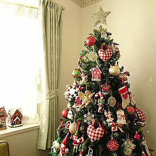 女性35歳の4LDK、クリスマスに関するchururiさんの実例写真