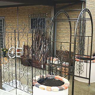 玄関/入り口/インスタやってます!/DIY/手作りの庭/手作り...などのインテリア実例 - 2016-11-13 19:45:49
