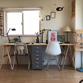 机/IKEA/賃貸/ワークデスク/ワークスペース...などのインテリア実例 - 2018-02-13 15:03:34