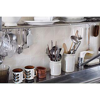 キッチン/フランスアンティーク/アンティーク/骨董品/メンズ部屋...などのインテリア実例 - 2017-06-04 19:57:47