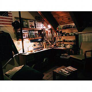部屋全体/天童木工/アメリカン/家具/myroom...などのインテリア実例 - 2017-05-22 23:34:50