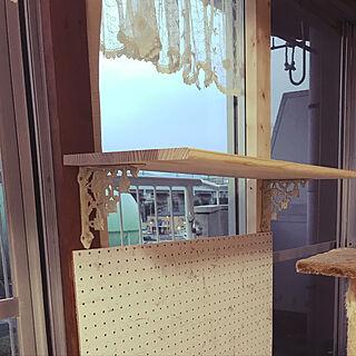 リビング/キャットタワー/ディアウォール DIY/雑貨/お部屋改造中( *´艸`)...などのインテリア実例 - 2017-10-01 17:31:16