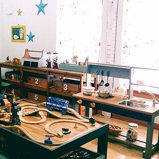 女性家族暮らし、おもちゃペイントに関するhanaさんの実例写真