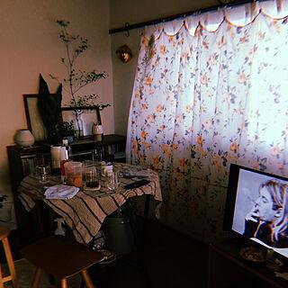 映画に出てくるような部屋/花/ナチュラル/アンティーク/レトロ/一人暮らし...などのインテリア実例 - 2019-05-19 23:10:12
