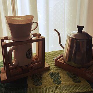 女性家族暮らし3LDK、やかん コーヒー用に関するsn0wchanさんの実例写真