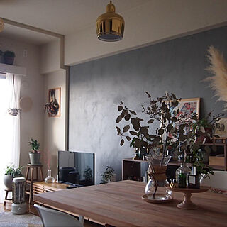 観葉植物/照明/雑貨/一人暮らし/北欧...などのインテリア実例 - 2020-02-22 12:55:47