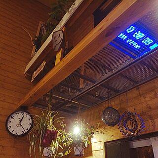 壁/天井/梁/グリーンインテリア/グリーンのある暮らし/グレーチング...などのインテリア実例 - 2017-03-01 01:08:23