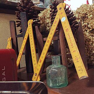 女性57歳の家族暮らし、古いインク瓶に関するchi-chanさんの実例写真