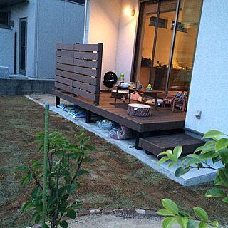 部屋全体/芝生の庭/DIY/ウッドデッキのインテリア実例 - 2016-05-16 17:04:18